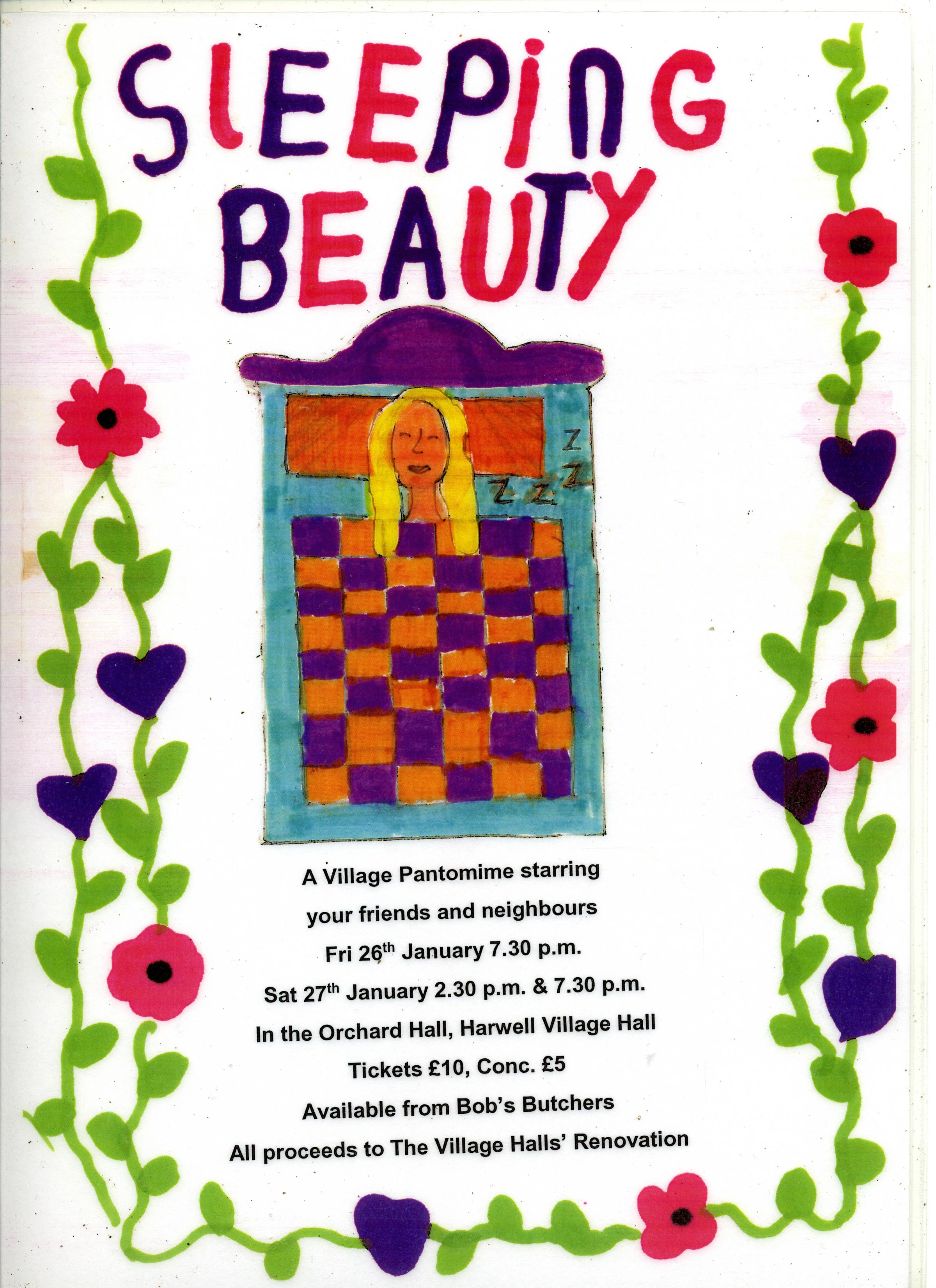 Harwell Village Pantomime - Sleeping Beauty