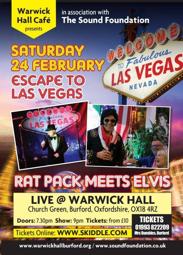 Escape to Las Vegas - Rat Pack and Elvis