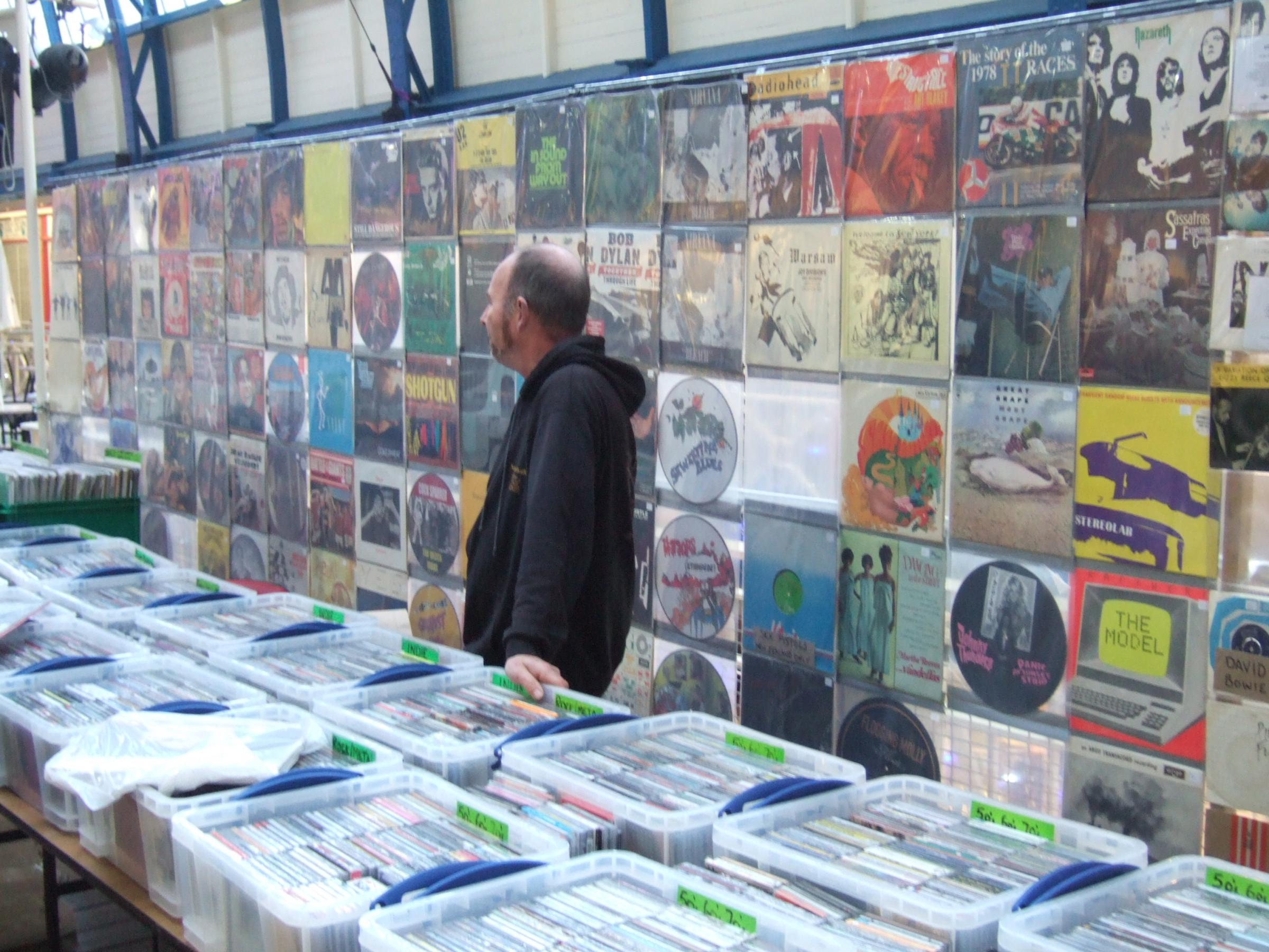 Rockaway Records Oxford Record and CD Fair