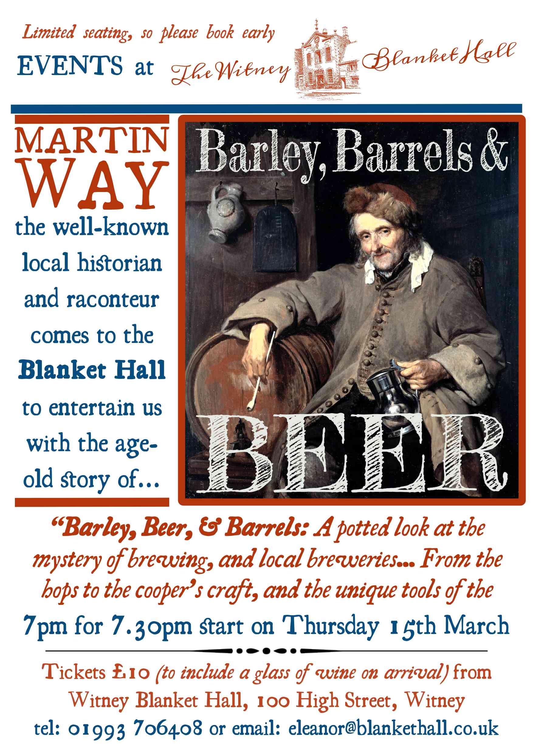 Barley, Beer and Barrels