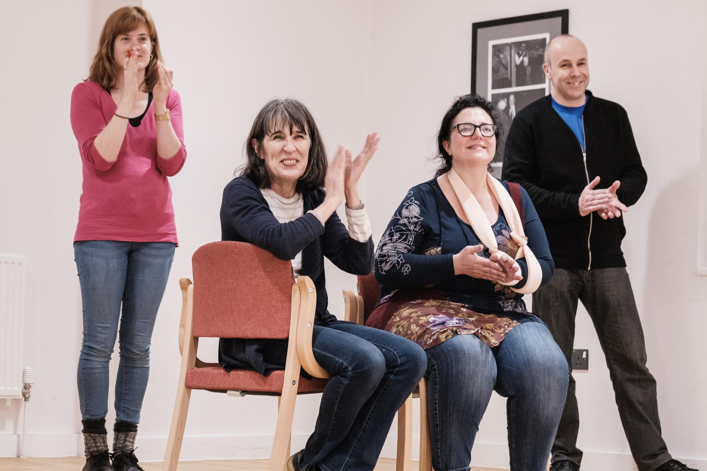 FREE singing and drama for adults: Get Creative Festival