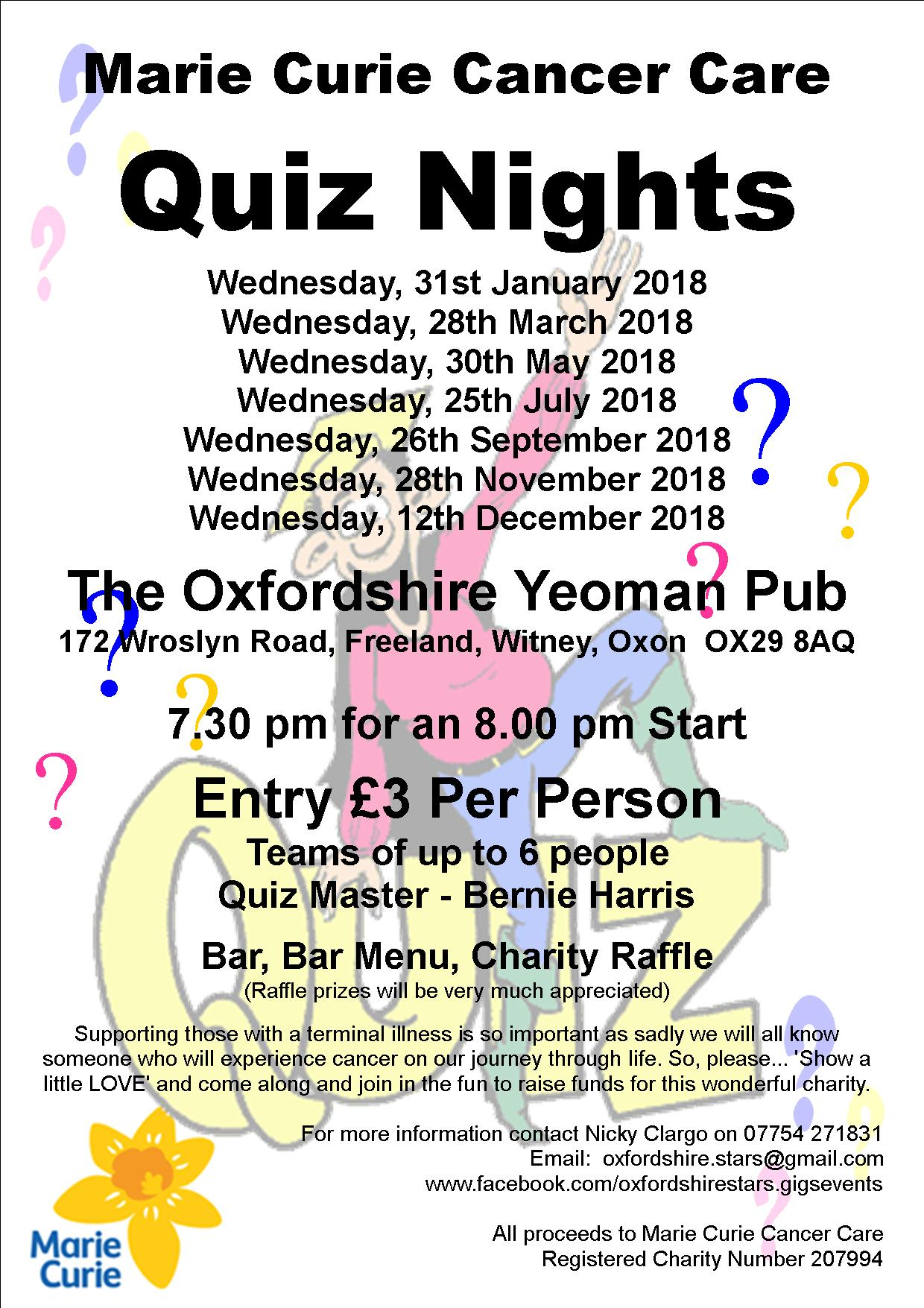 Easter Quiz Night