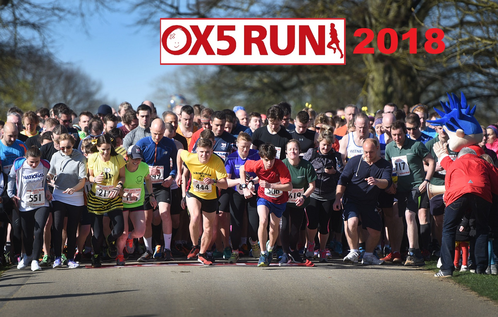 OX5 Run nominated for national award - we need your vote!