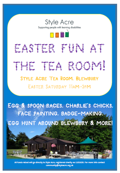 Easter at the Style Acre Tea Room