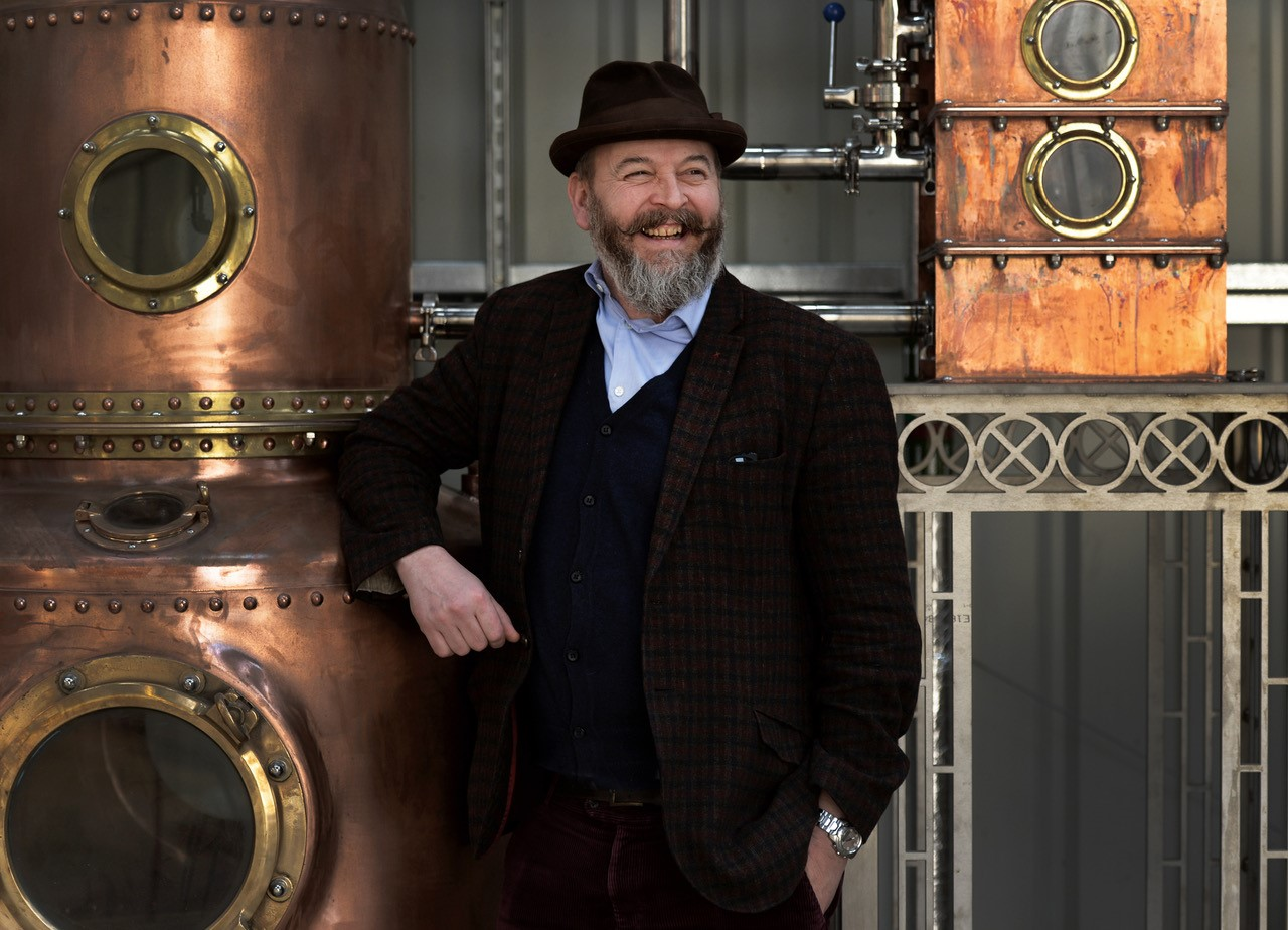 Tom Nicolson of The Oxford Artisan Distillery   Picture: Tom Nicolson