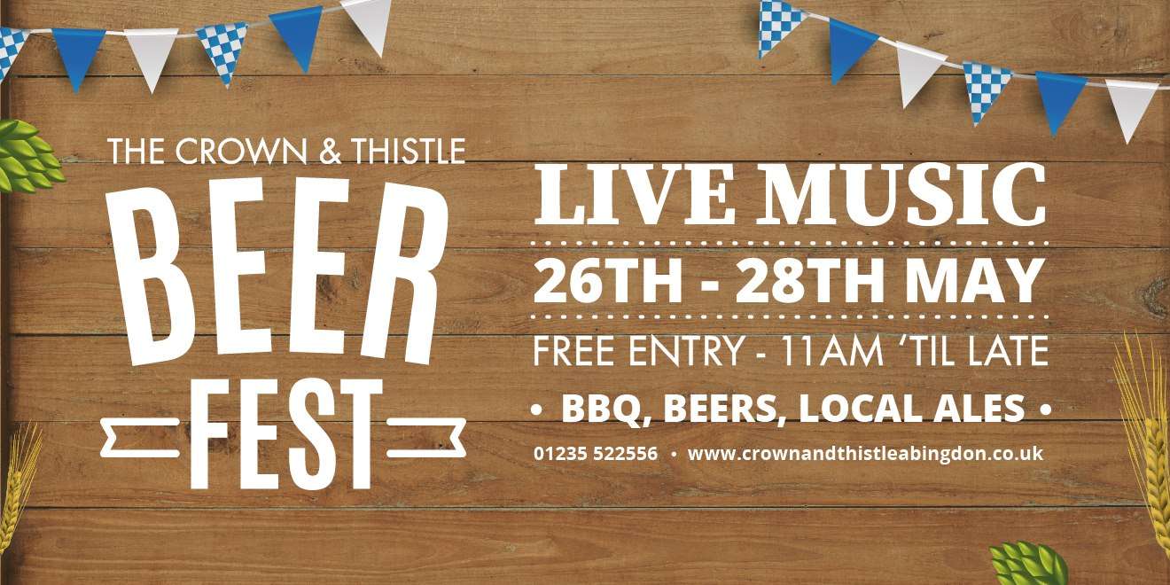 Beer Fest at the Crown and Thistle