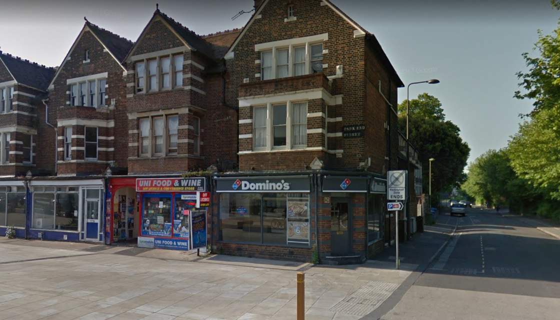 Domino's on Park End Street, Oxford. Picture - Google