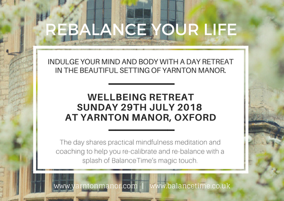Rebalance Your Life: Wellbeing Retreat
