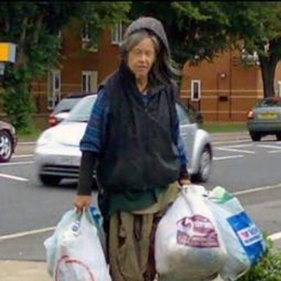 Eleanor Boulton, known as the Botley Bag Lady. Picture: Botley Bag/Twitter