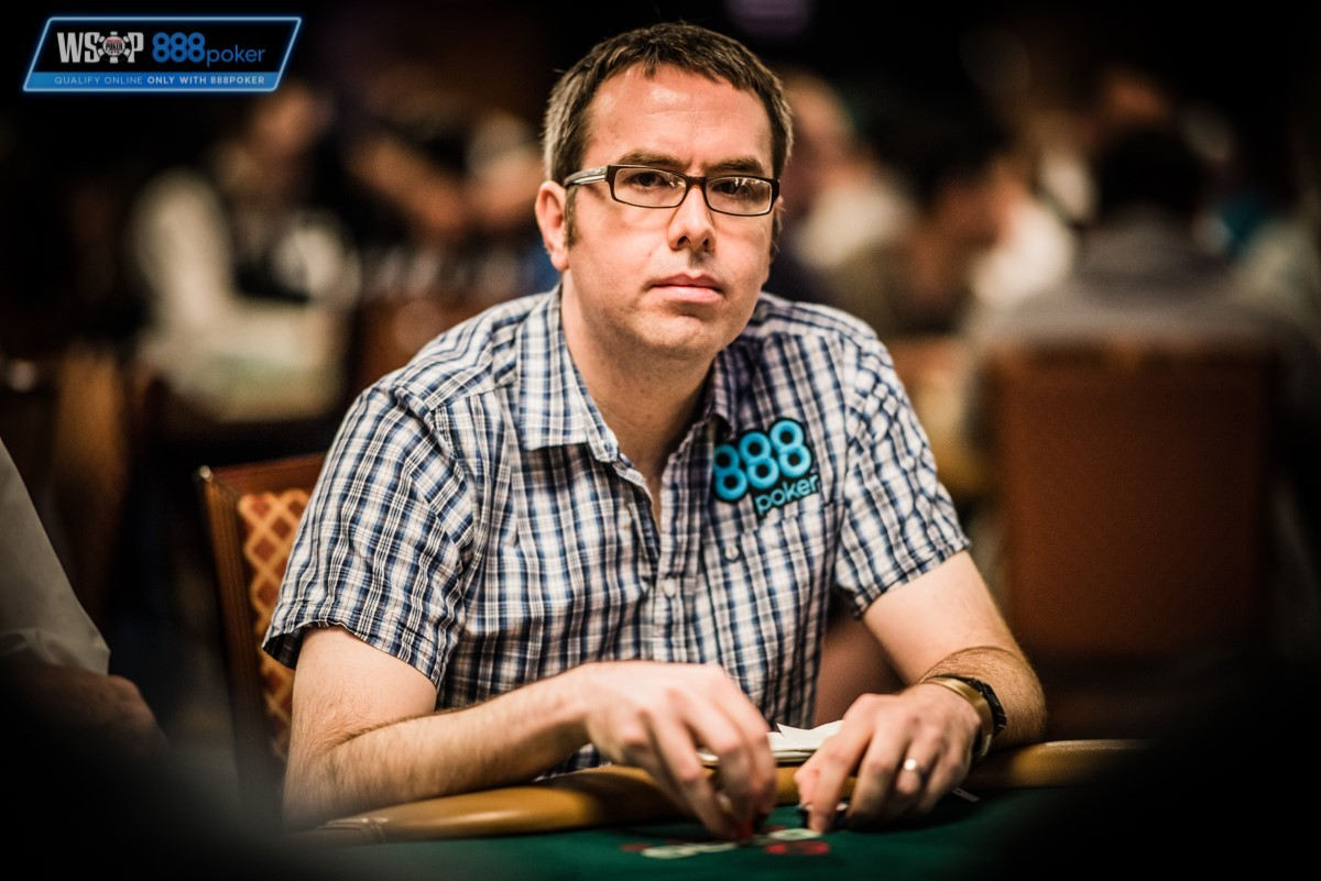 NUMBER CRUNCHER: Sam Gilbert competing in the World Series of Poker main event.