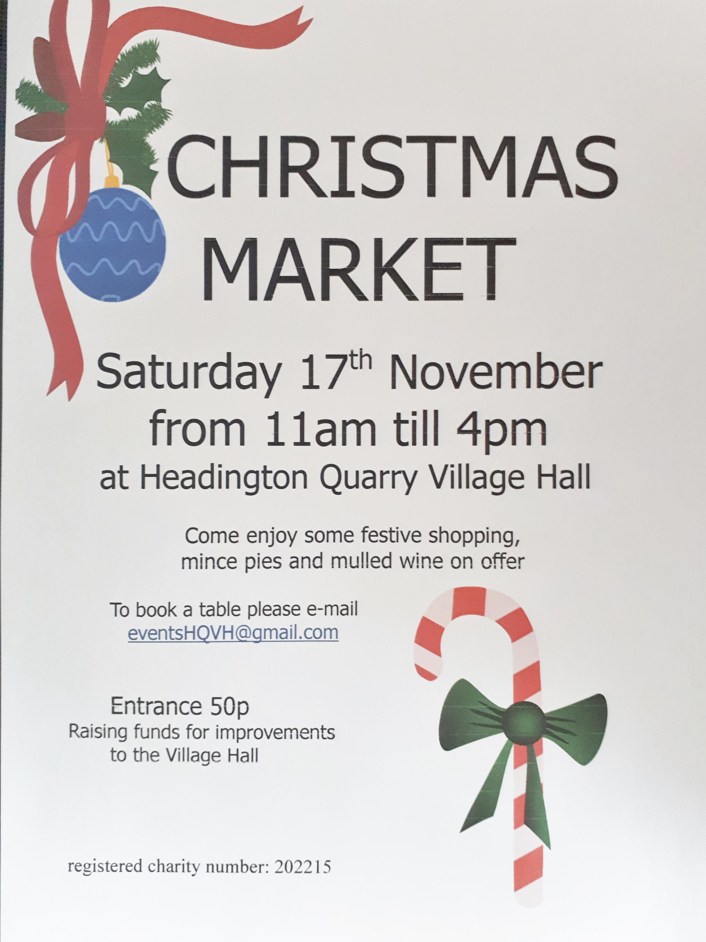 Headington Quarry Christmas Market