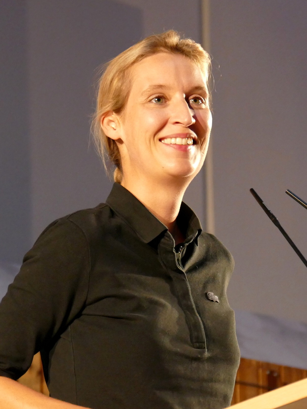 Alice Weidel is the joint leader of Germany's far right AfD party