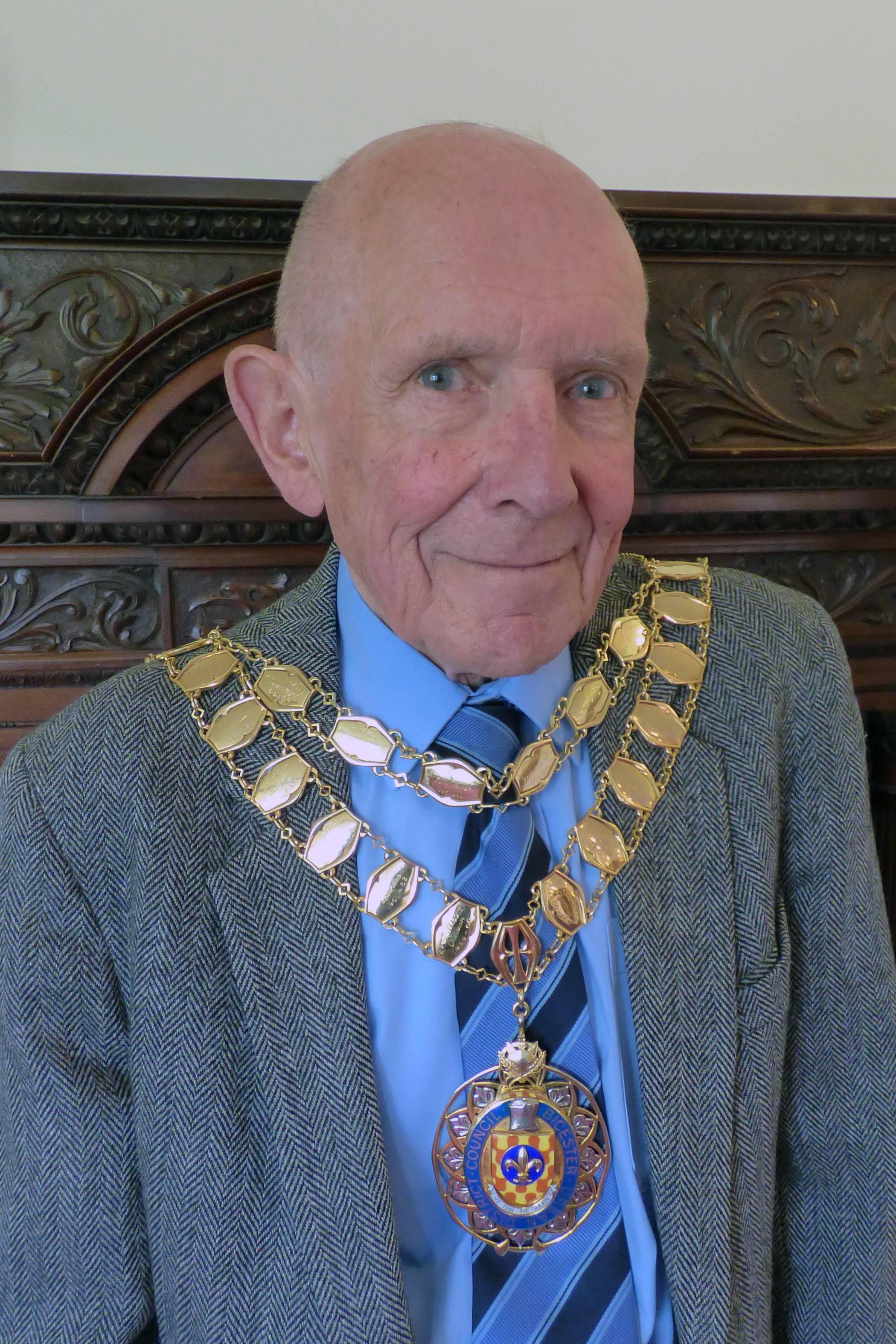 Former Bicester town mayor Jim French who passed away last month