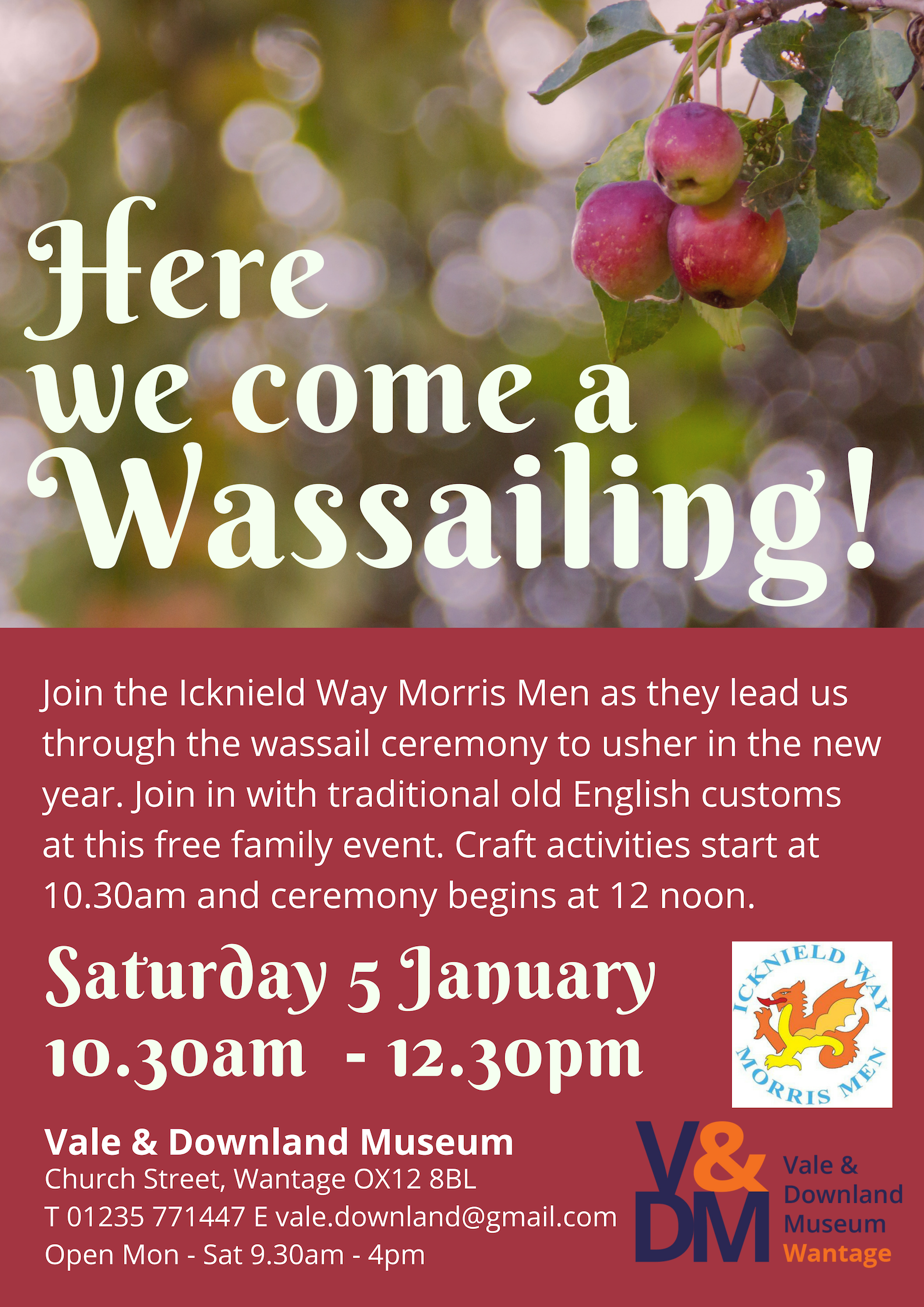 Here We Come a Wassailing