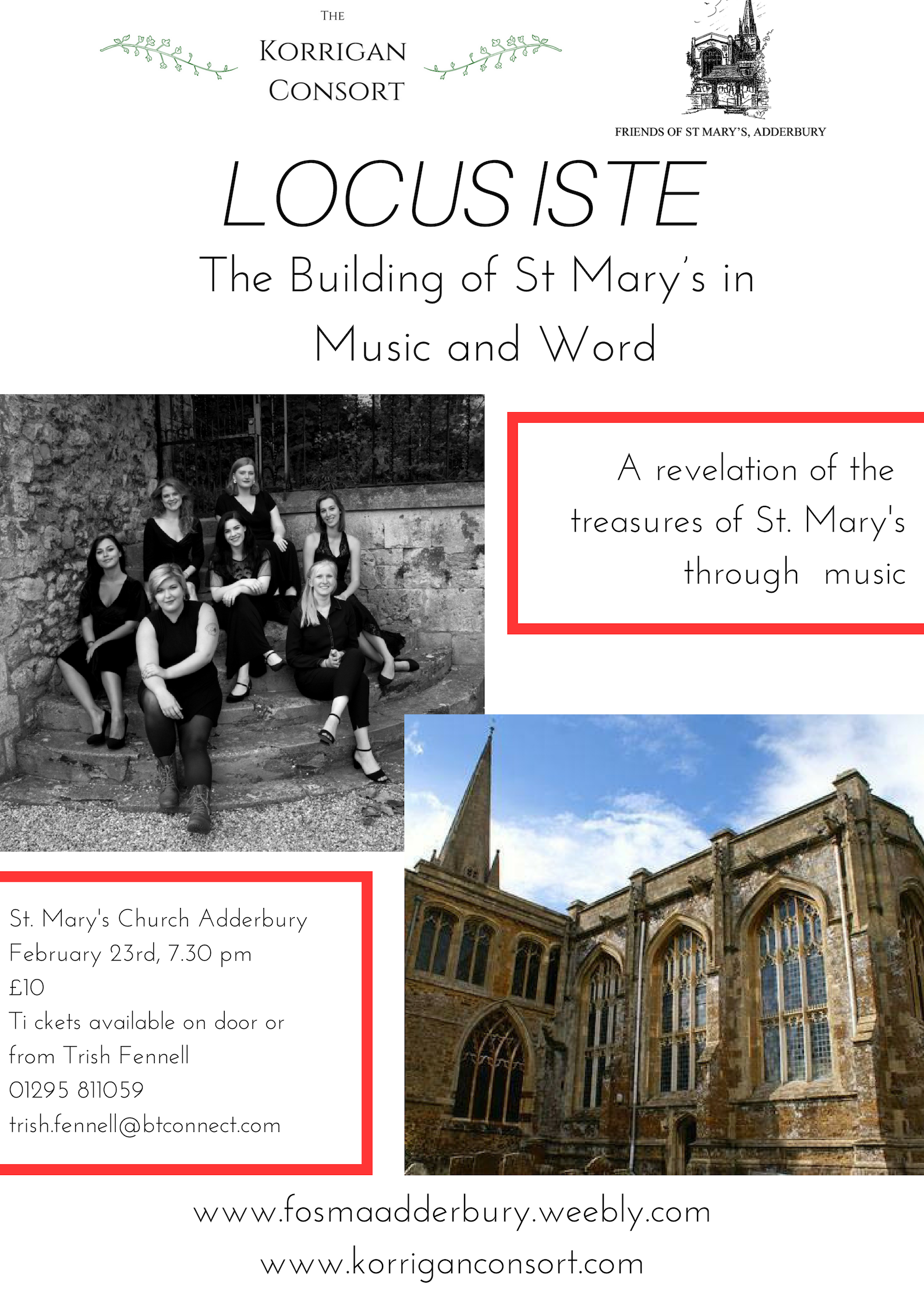 Locus Iste: A Revelation of the Treasures of St. Mary's Adderbury