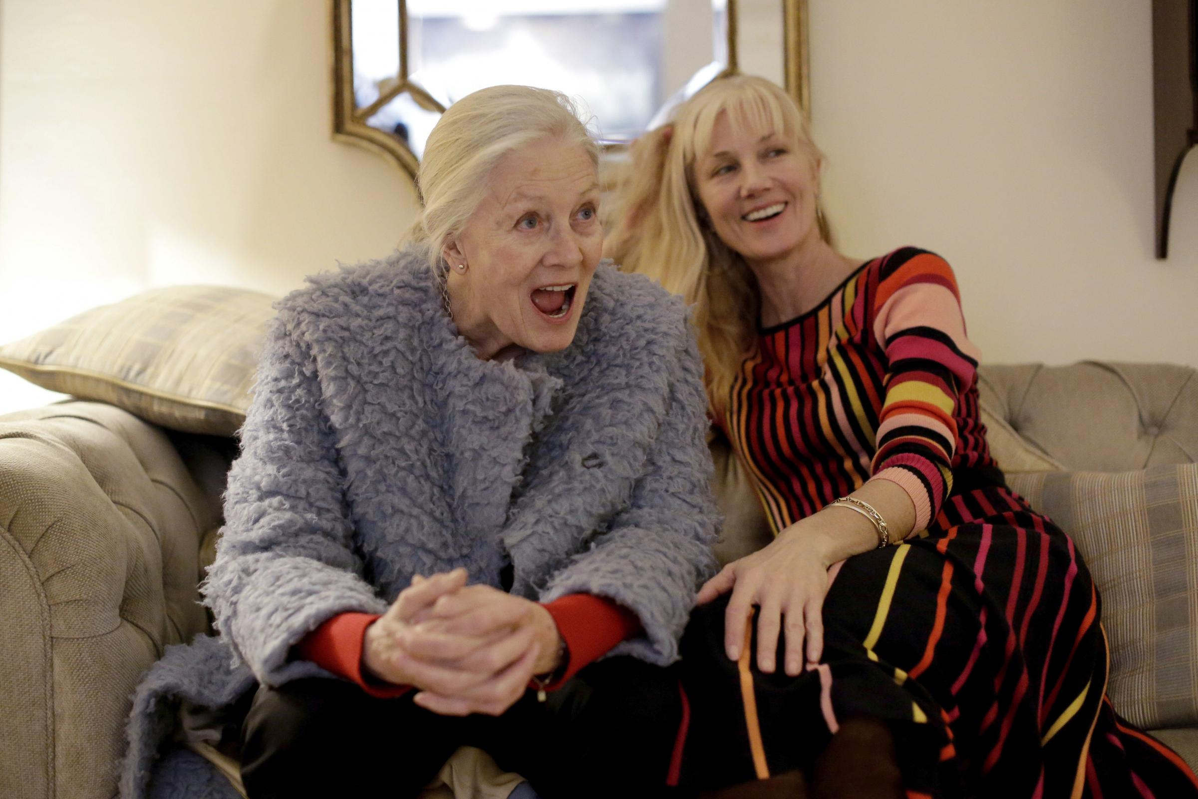 Vanessa Redgrave and her daughter Joely Richardson