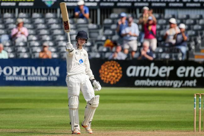 Ben Charlesworth, pictured in action for Gloucestershire, scored 99 for England Young Lions on the opening day of the first Test against Bangladesh Under 19s Picture: Martin Bennett