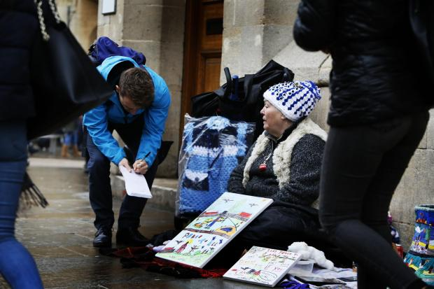thisisoxfordshire: Oxford Mail reporter Harrison Jones talks to a local street artist about the issue