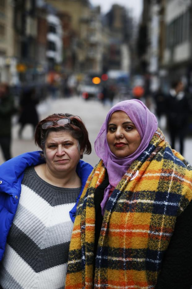 thisisoxfordshire: Shaista Aziz (right) with Monica Gregory