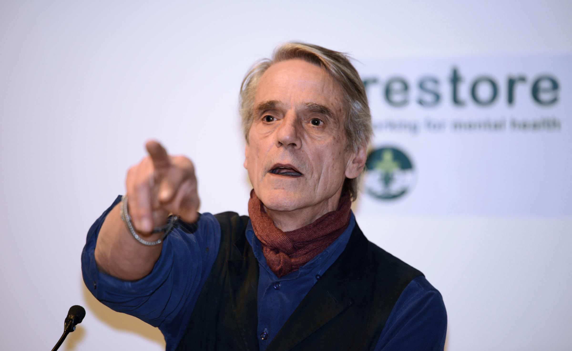 Jeremy Irons hosts Restore's charity auction. Picture: Restore