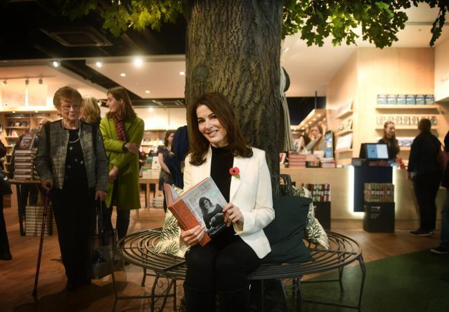 Celebrity chef Nigella Lawson opens the Blackwell's Westgate store in Novembeer 2017