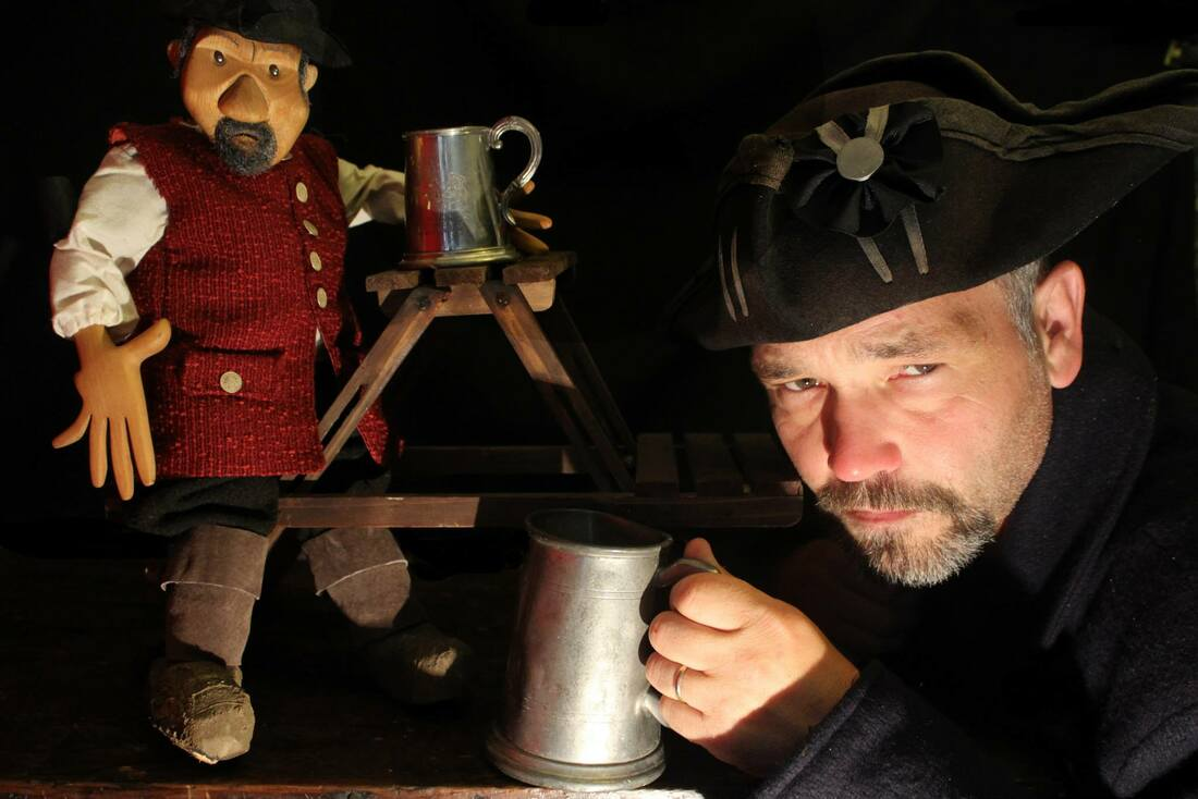 Rattlebox Theatre: The Pasty Pirate Show, Family storytelling and puppet show