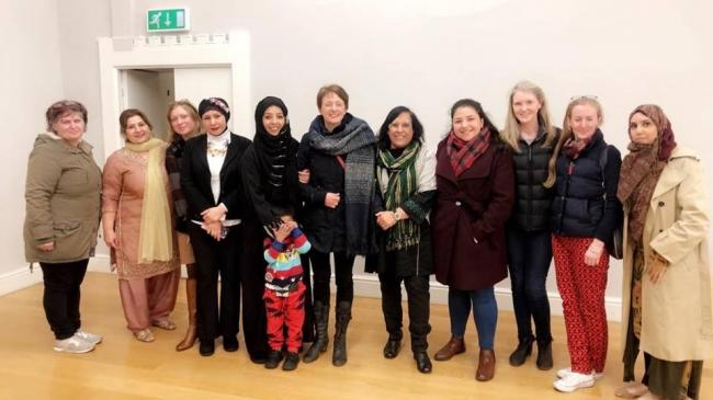 Female faith leaders for Oxford joined a peace symposium at Richard Benson Hall, Cowley, in March 2019, shortly after the Christchurch, New Zealand, mosque shooting. Picture: Lubna Arshad