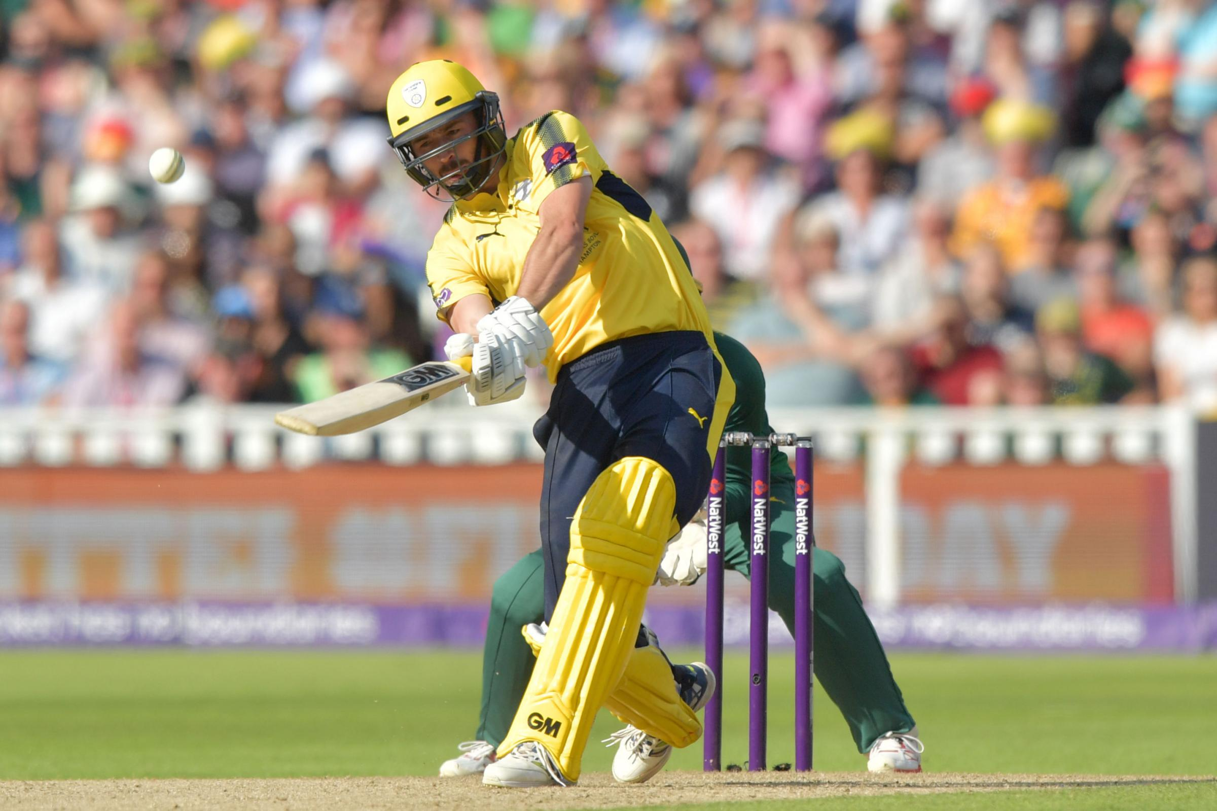 Hampshire captain James Vince could feature against Oxford MCCU in The Parks this weekend Picture: Anthony Devlin/PA Wire