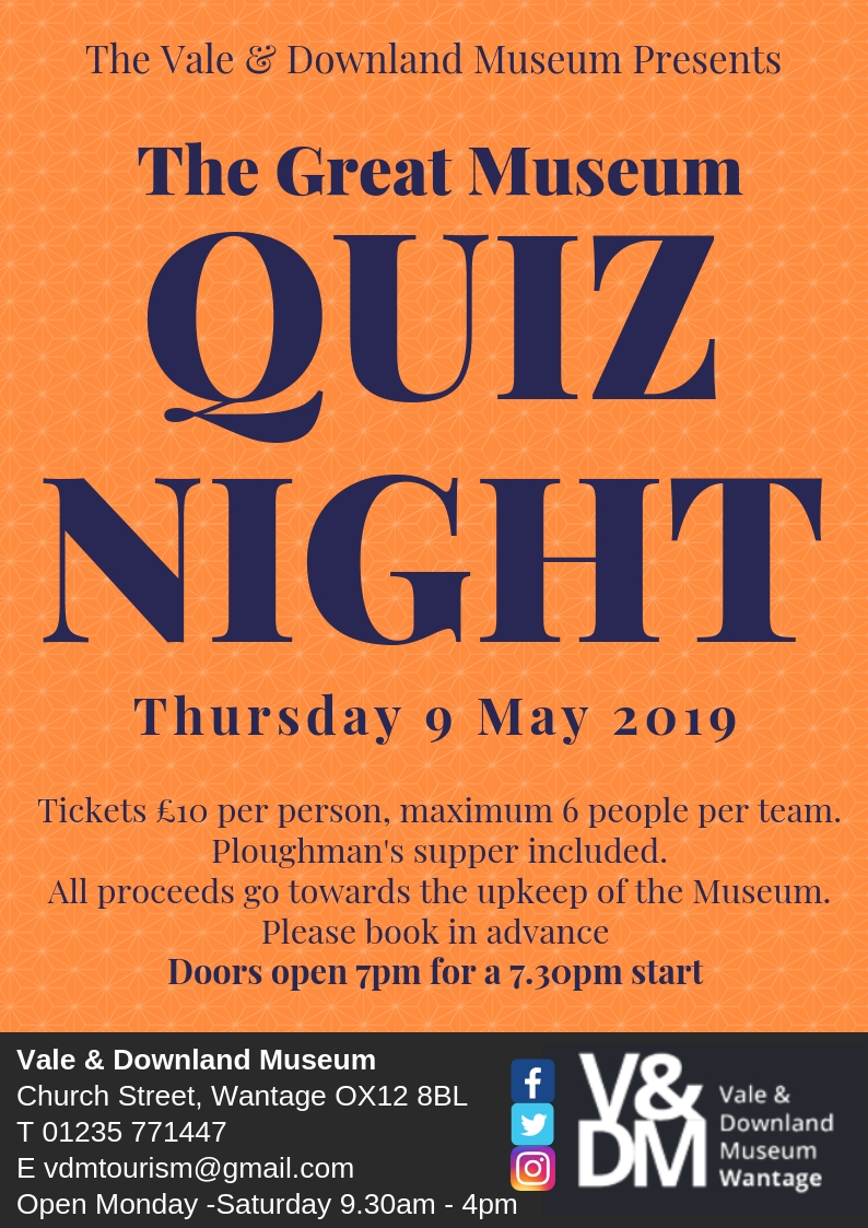 The Great Museum Quiz Night