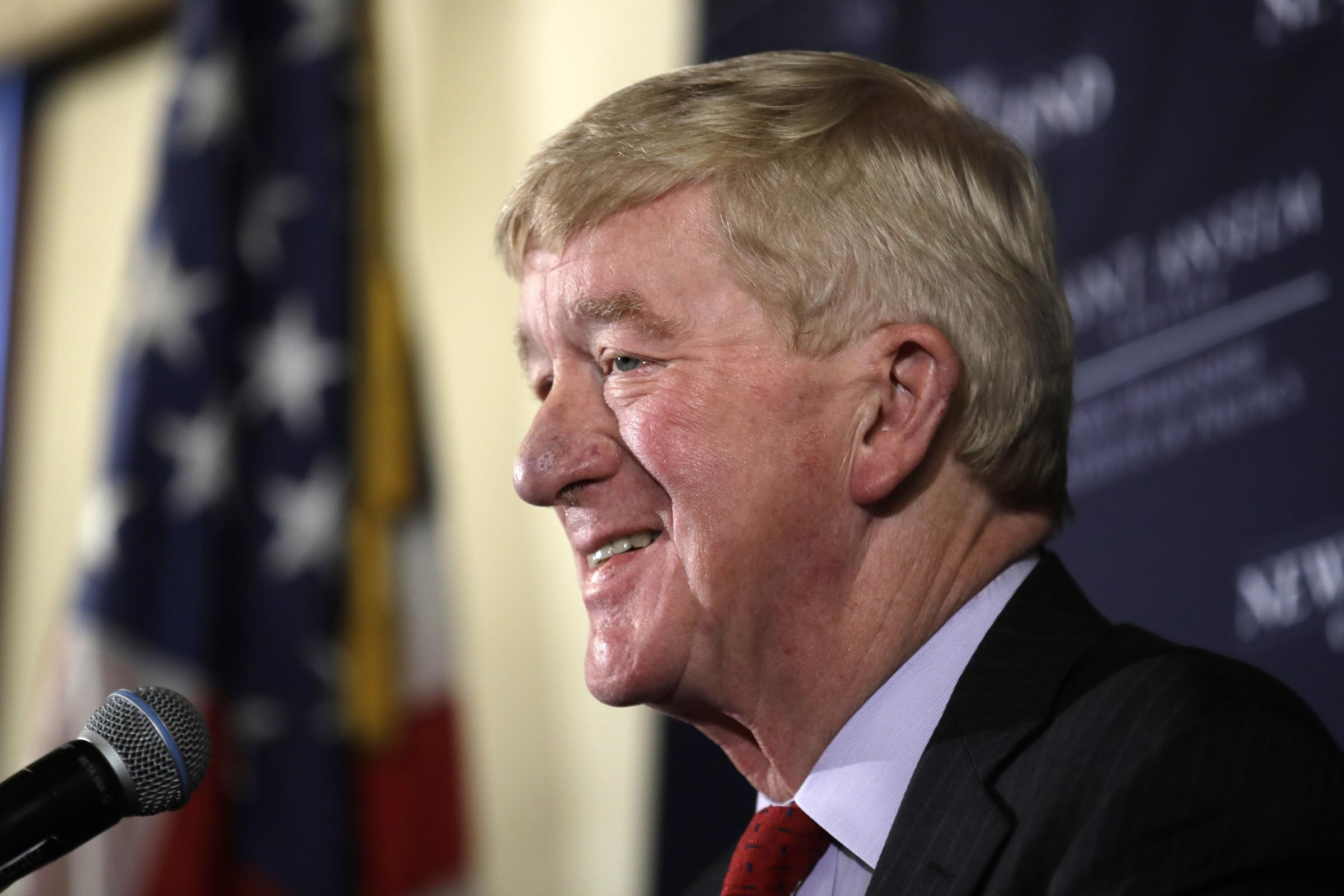Former Massachusetts governor William Weld