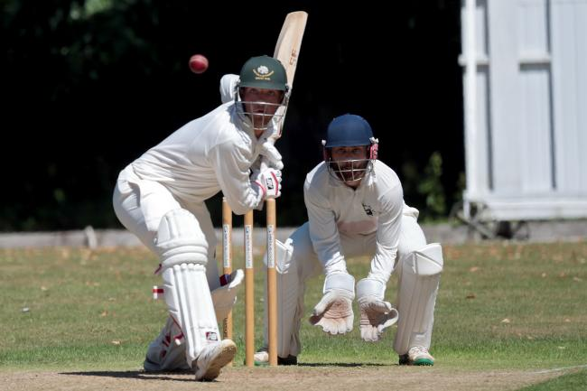 Charlie Miller made 60 but could not prevent Shipton-under-Wychwood's defeat to Minster Lovell    Picture: Ric Mellis
