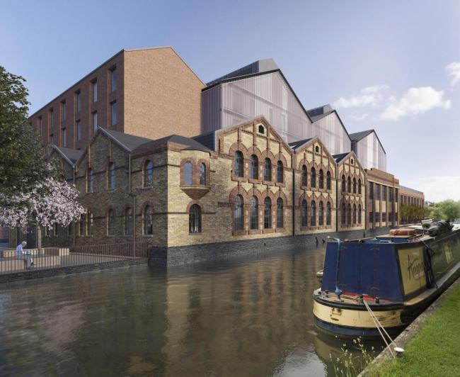 The former Osney power station which is being developed by Said Business School