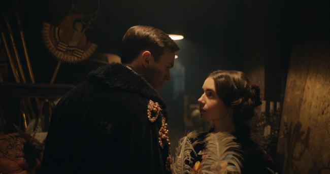 Undated film still handout from Tolkien. Pictured: Nicholas Hoult as J. R. R. Tolkien and Lily Collins as Edith Bratt. See PA Feature SHOWBIZ Film Reviews. Picture credit should read: PA Photo/Twentieth Century Fox Film Corporation/Fox Searchlight Picture