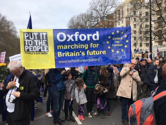 Anti-Brexit  campaigners day of action this weekend