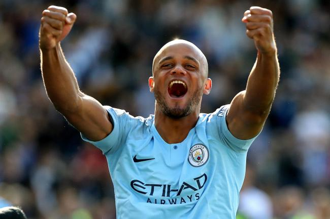 Vincent Kompany, who is leaving Manchester City to take over as Anderlecht's player-manager