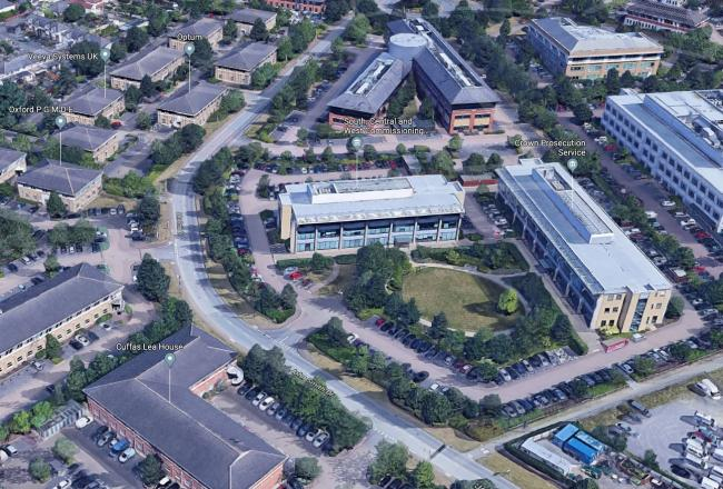 Oxford Business Park, John Smith Drive, Pic google maps